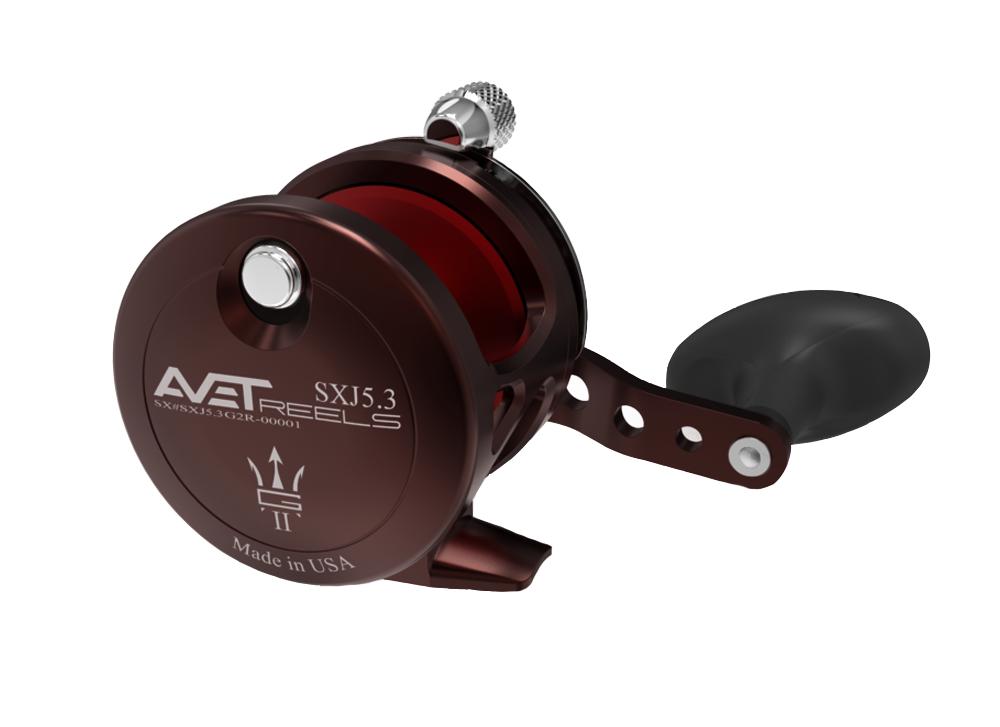 AVET SXJ 5.3 G2 LEVER DRAG CASTING REEL (Neptunes)