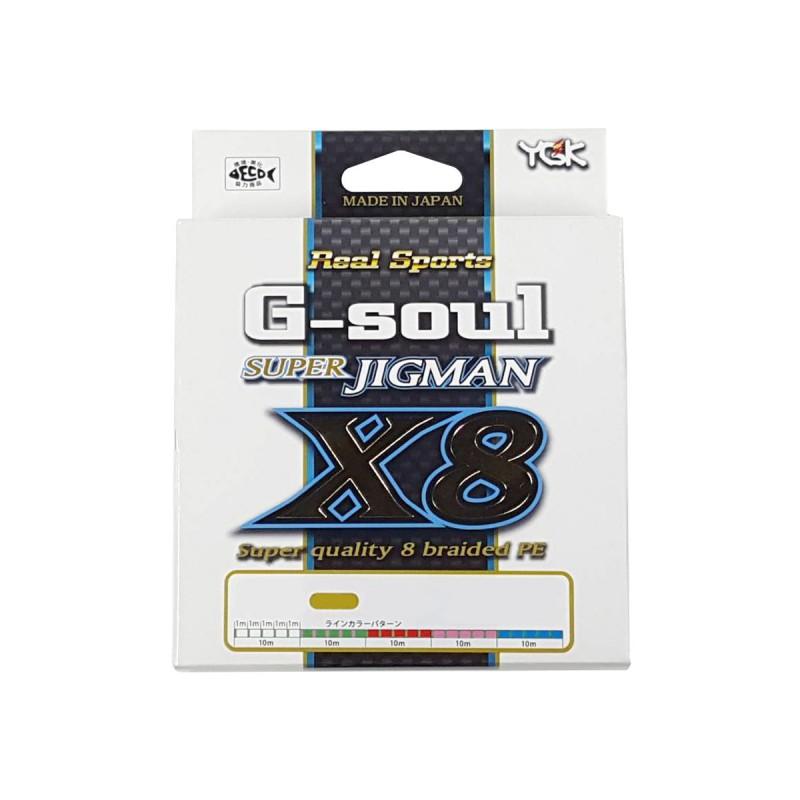 YGK G-Soul Super Jigman X8 200m