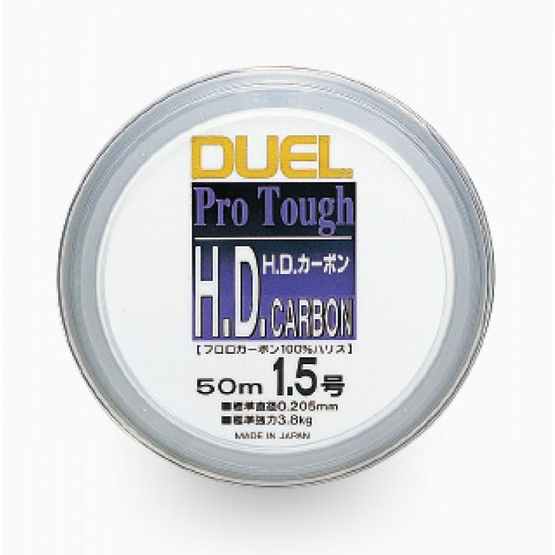 Duel H1254-H.D.Carbon fune Fluoro100% 50m