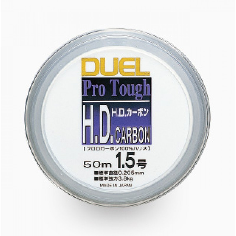 Duel H1014-H.D.Carbon fune Fluoro100% 100m