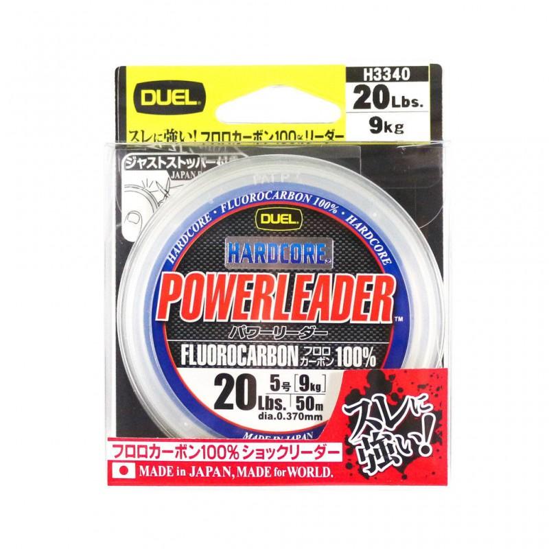 Hardcore Powerleader Fluorocarbon100% 50m 20lbs