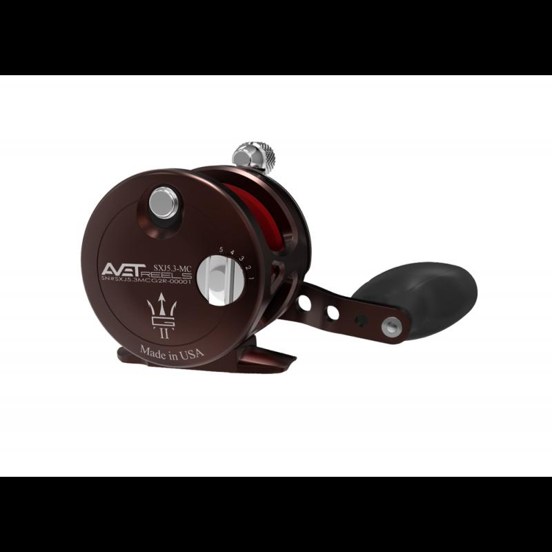 AVET SXJ 5.3 MC G2 LEVER DRAG CASTING REEL