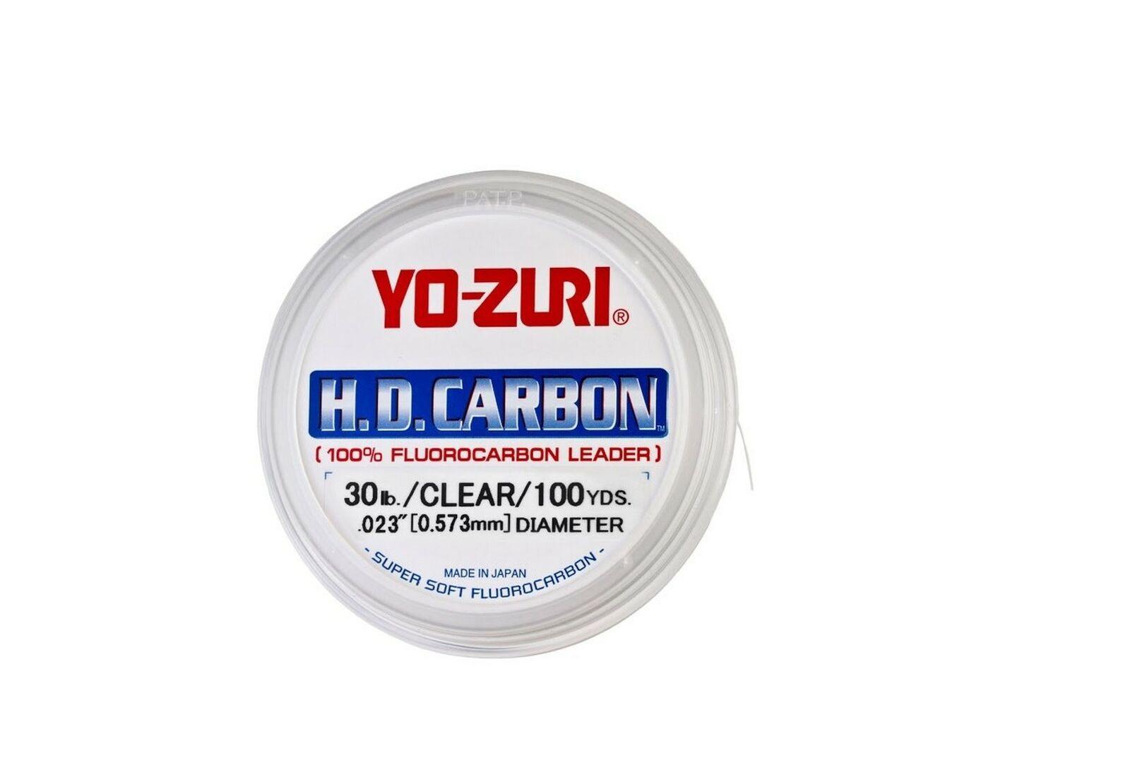 H.D.CARBON FLUOROCABON 30YDS 60LBS